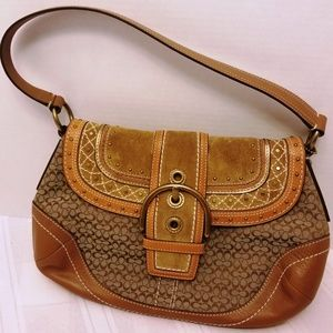 EUC. Like New Coach Southwestern Style HOBO Bag